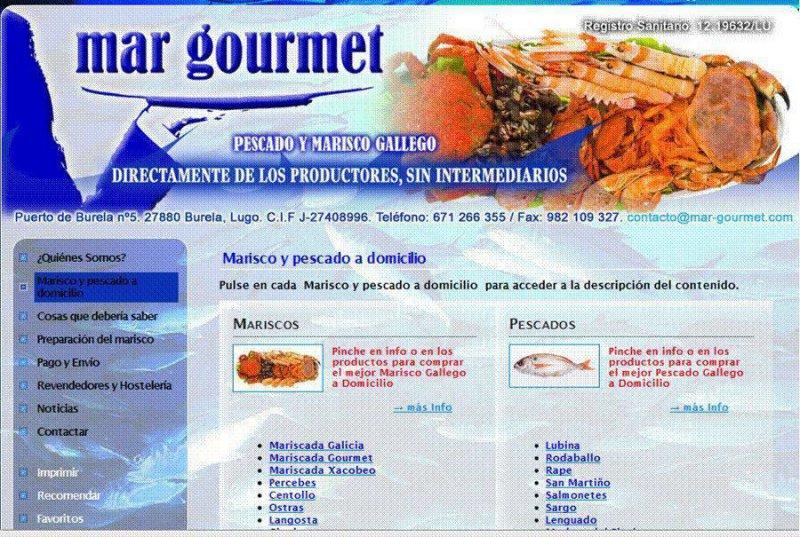 Mar Gourmet pescado y marisco gallego