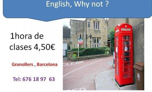 clases de inglés / francés