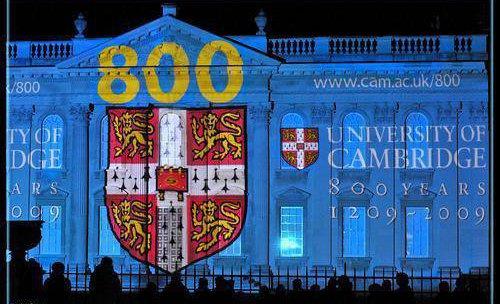 800 th CAMBRIDGE Univerisity 2009