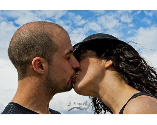 Romantico beso