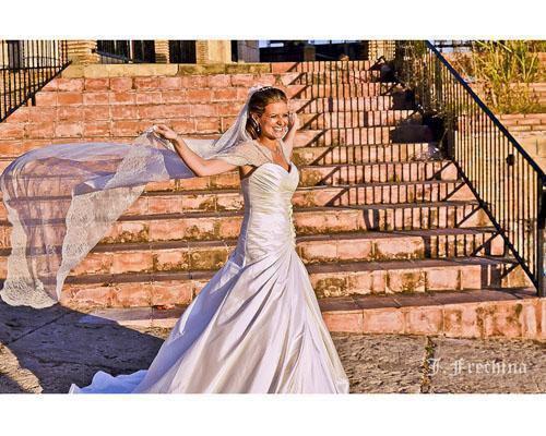 Bonita imagen de una novia