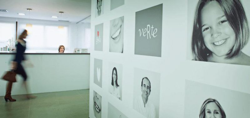 Hall clínica dental Segarra Vidal