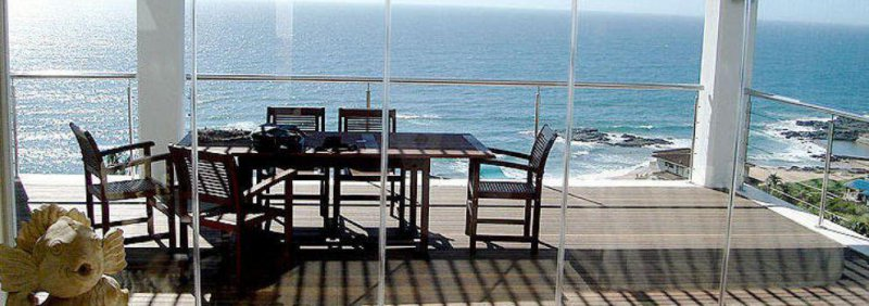 Cortina con vistas al mar