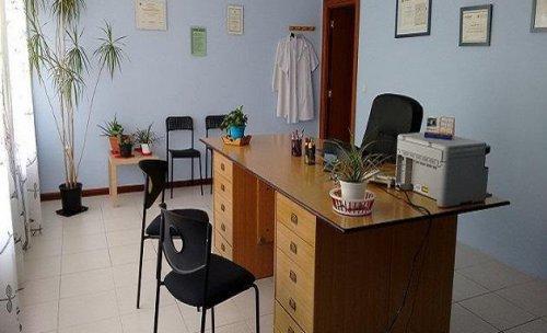 Sala de espera de Éxitus Psicología