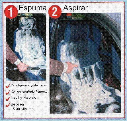 Limpieza y desinfeccion del interior de un vehiculo
