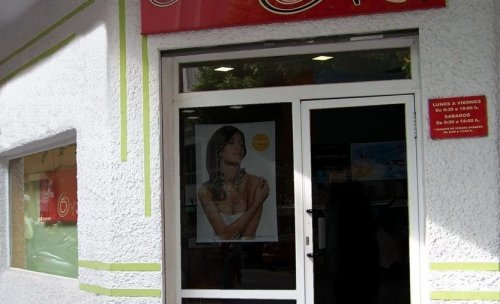 fachada del salon