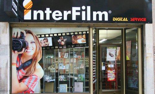 Tienda de fotografía Interfilm