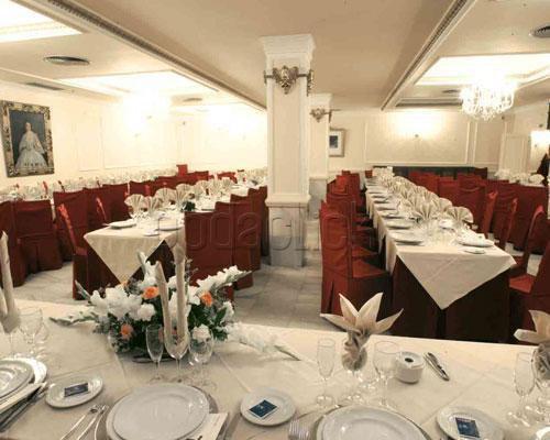 Ocho salones de celebración para el banquete
