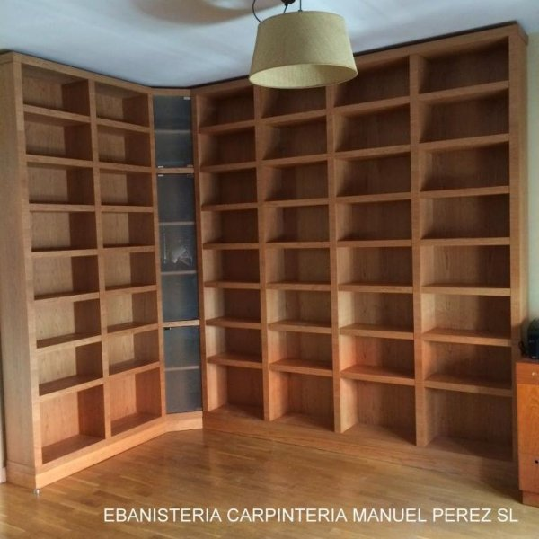 Estanteria a medida libreria zaragoza mueble a medida ebanisteria carpinteria manuel perez zaragoza