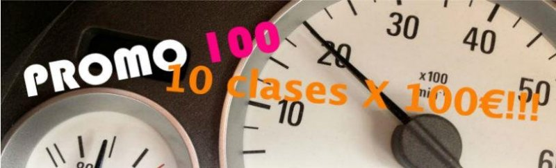 ¡¡ 10 CLASES A 100 € !!