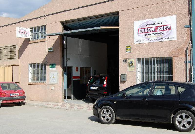 Carrocerías Pabón y Páez, taller de chapa y pintura en Málaga