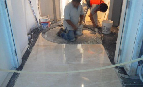 instalación de todo tipo de suelos (foto, suelo de marmol)