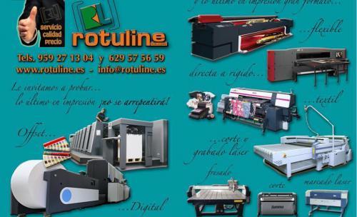 Servicios de Impresión, corte, grabado y marcaje