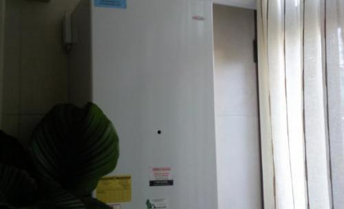 Caldera Hermann Supermicra Ecoplus,instalada en Santurtzi.