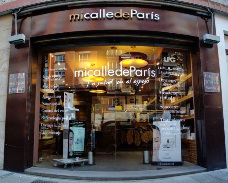 Fachada de mi calle de París