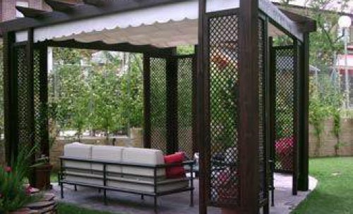 peergolas jardin