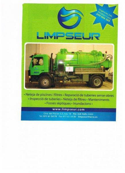 limpseur servicios   de urgencias 24h   desatascos , inundaciones, fosas septicas
