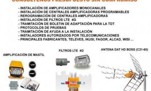 Dividendo Digital 2014, Comunidades de Vecinos Salamanca, Instalación de Antenas de Televisión