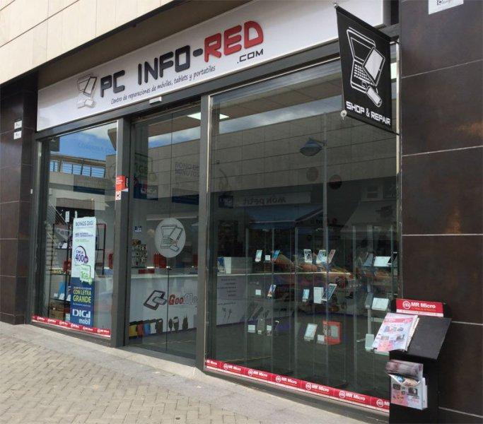 Pc Info-Red Centro reparaciones de moviles,tablets y portatiles