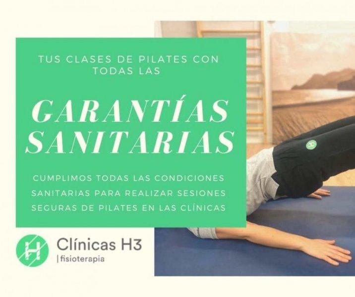 Clases de pilates en madrid. precio. garantías sanitarias