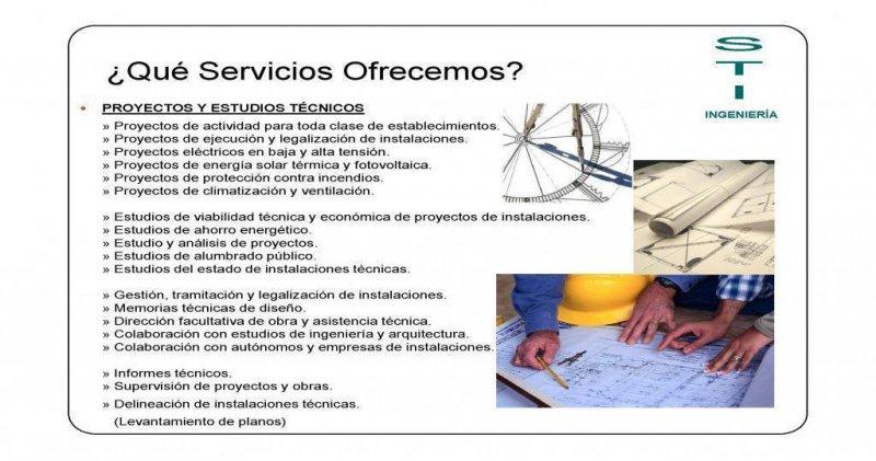 PROYECTOS Y ESTUDIOS TÉCNICOS