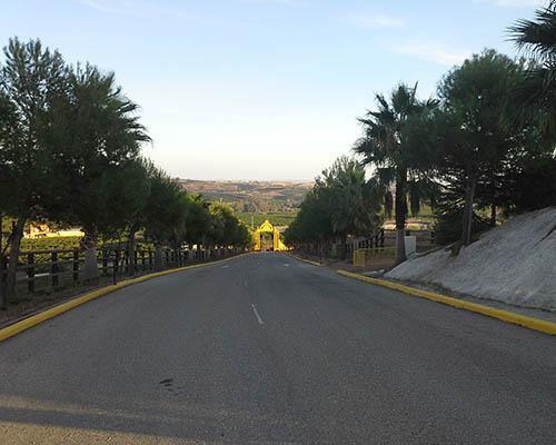 Carretera de entrada