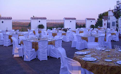 Banquete en el exterior