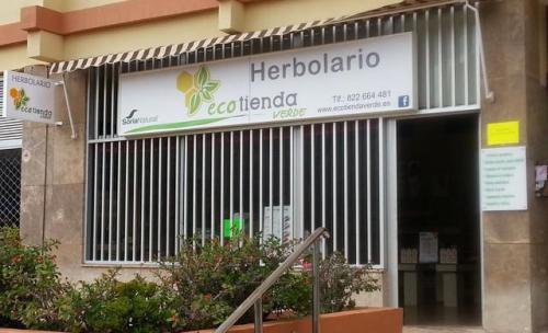 Fachada principal del Herbolario