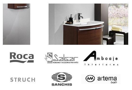 Trabajamos las mejores marcas - muebles baño