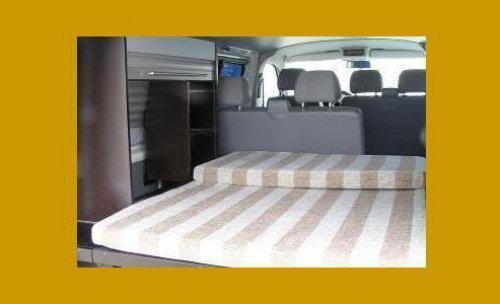 Interiores para furgonetas camper