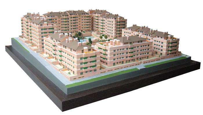 Maqueta inmobiliaria