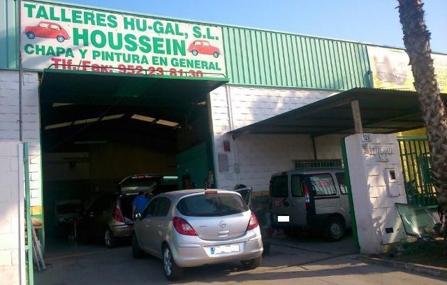 Talleres Hu-Gal, taller de chapa y pintura en P.I. Gudalhorce Málaga
