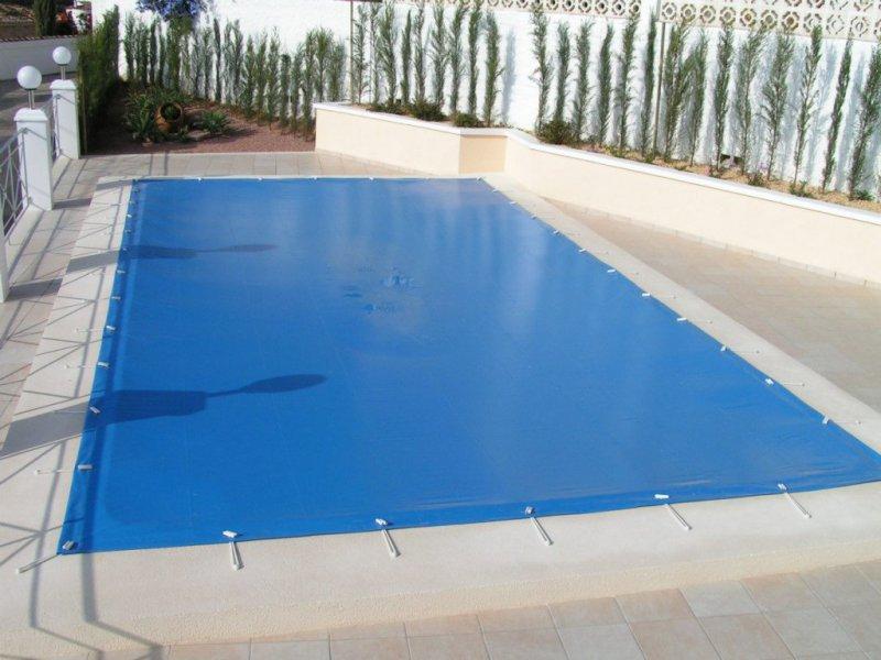 Cubre piscinas invernales