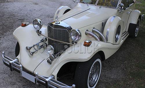 Un coche exclusivo para tu evento