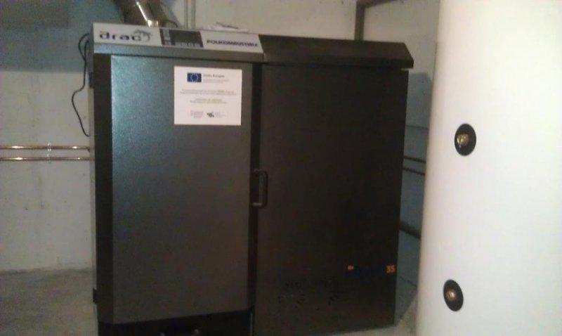 Caldera de biomasa Biodrac