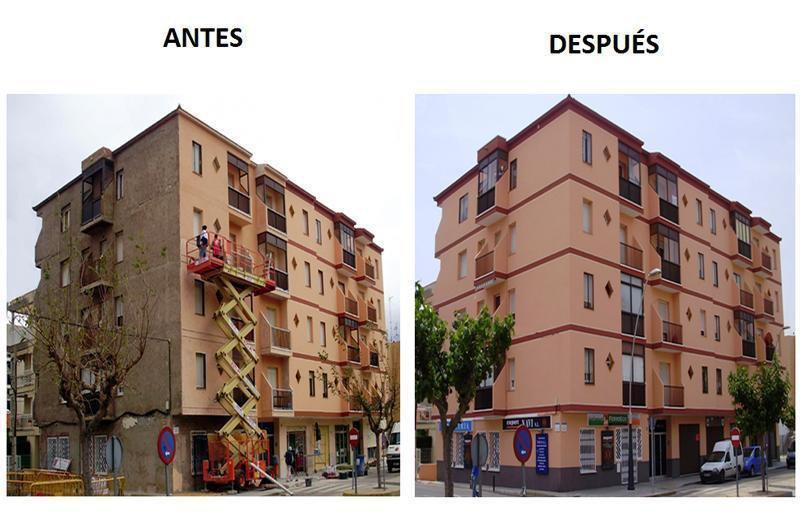 Rehabilitación fachada Estipi Costa Daurada