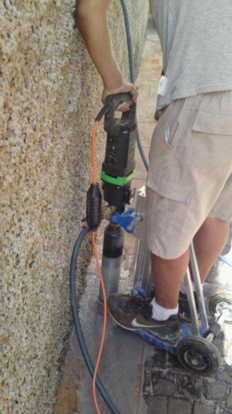 instalando portacebos termitas