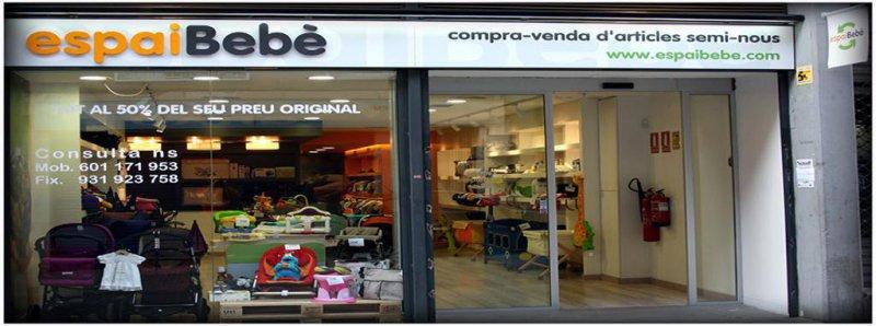 Tienda online segunda mano, seminuevo bebe en Barcelona