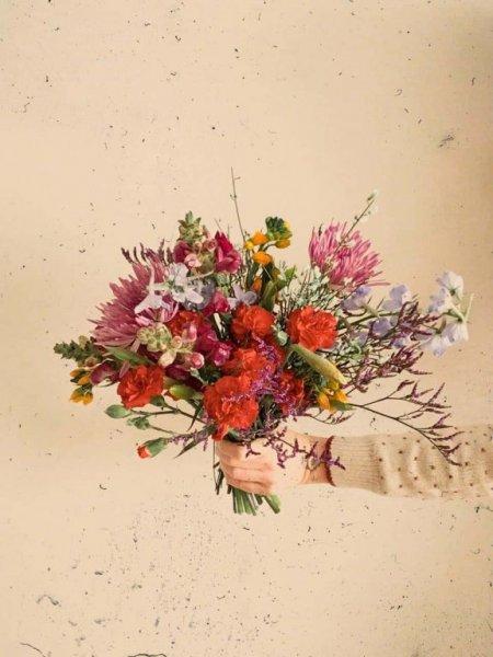 Ramo de flores en suscripción