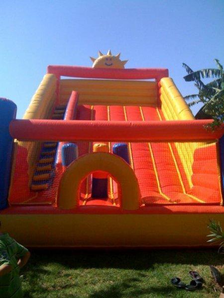 Castillo tobogan