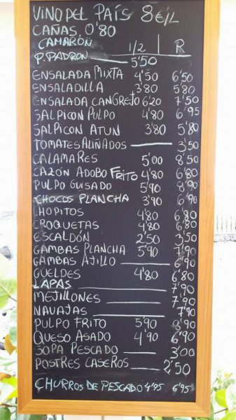 La Cofradía de las Caletillas, restaurante en Tenerife