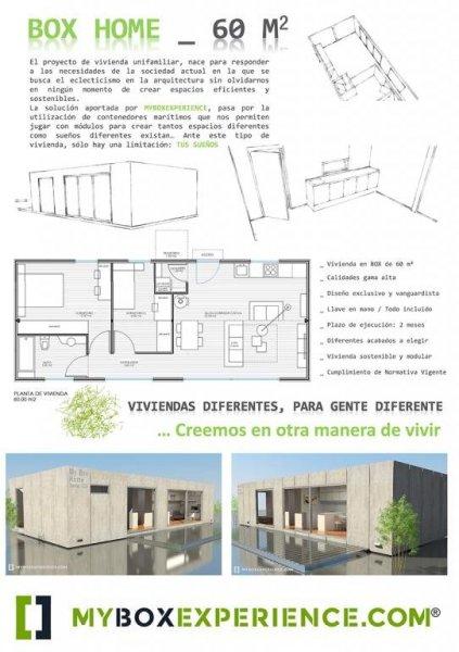 BOX VIVIENDA 60 M2