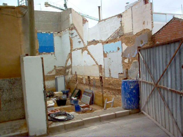 cimentación de una de nuestras viviendas