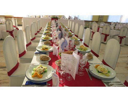 Salon banquete rojo