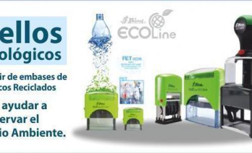 Sellos ecológicos a partir de envases plásticos reciclados