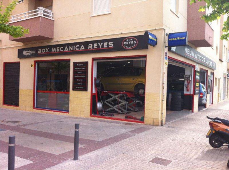Box Mecánica Reyes, taller mecánico y de neumáticos en Elche