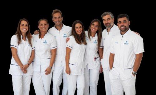 El equipo de Clínica Dental Calas