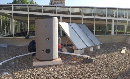 equipo solar colectivo