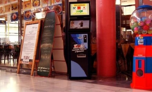 maquina de loterias negocios