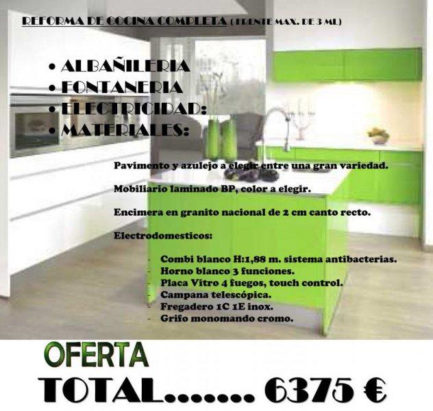 Reforma tu cocina al mejor precio en A Coruña